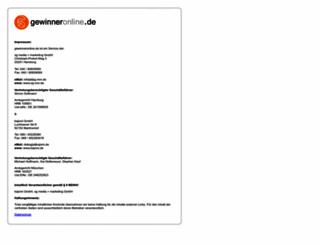 sandero.gewinneronline.de screenshot