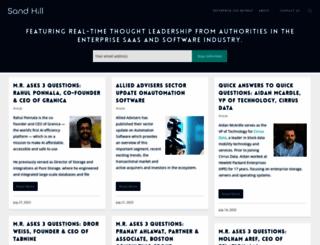 sandhill.com screenshot