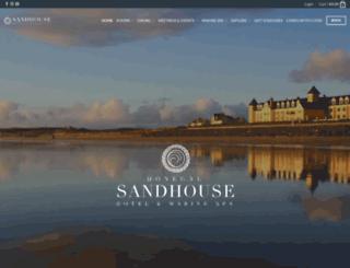 sandhouse.ie screenshot
