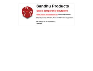 sandhu-products.amazonwebstore.com screenshot