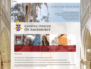sandhurst.catholic.org.au screenshot