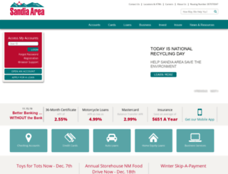sandia.org screenshot