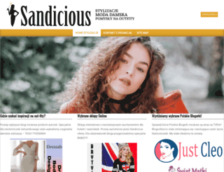 sandicious.pl screenshot