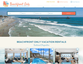 sandiego.beachfrontonly.com screenshot