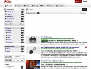 sandiego.claz.org screenshot