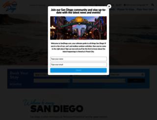sandiego.com screenshot