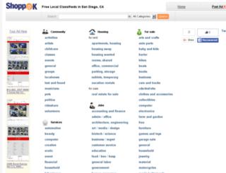 sandiego.shoppok.com screenshot