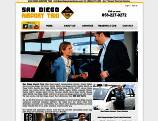 sandiegoairporttaxis.com screenshot