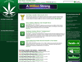 sandiegocannabisclubs.com screenshot