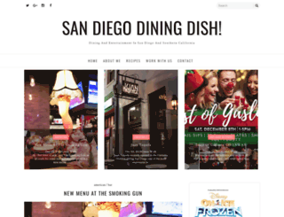 sandiegodiningdish.com screenshot