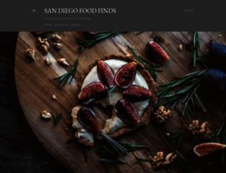 sandiegofoodfinds.com screenshot