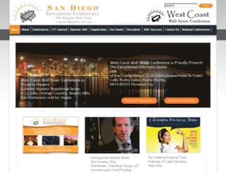 sandiegoinvestmentconference.com screenshot