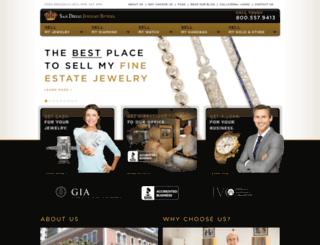 sandiegojewelrybuyers.com screenshot