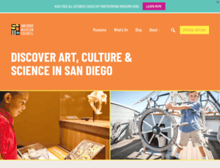 sandiegomuseumcouncil.org screenshot