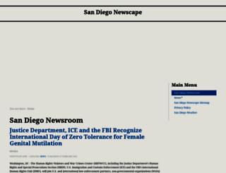 sandiegonewscape.com screenshot