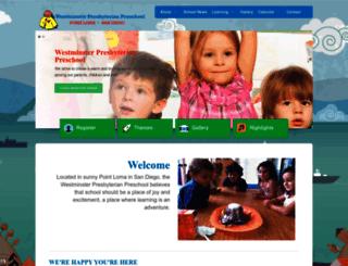 sandiegopreschools.com screenshot