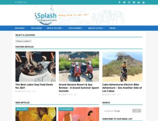 sandiegosplash.com screenshot
