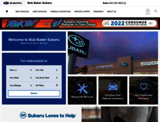 sandiegosubaru.com screenshot