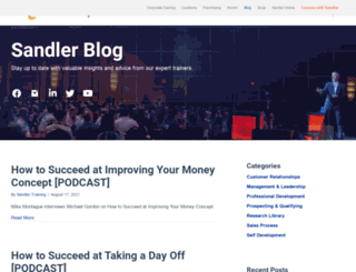 sandlerblog.com screenshot