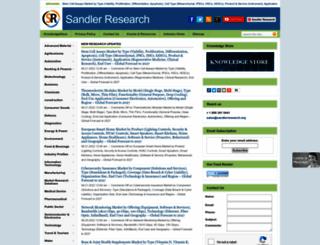 sandlerresearch.org screenshot