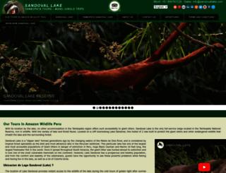 sandovallake.com screenshot