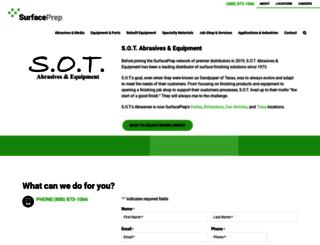sandpaperoftexas.com screenshot