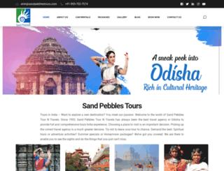 sandpebblestours.com screenshot