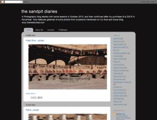 sandpitdiaries.blogspot.com screenshot