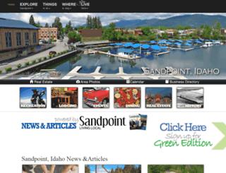sandpoint.com screenshot