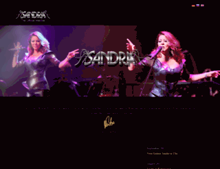 sandra-music.com screenshot