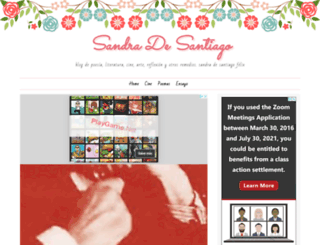 sandradesantiago.blogspot.mx screenshot