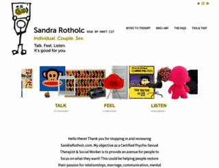 sandrarotholc.com screenshot