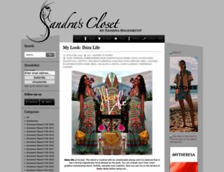 sandrascloset.com screenshot