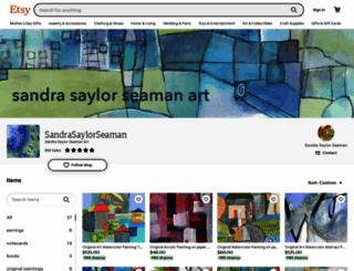 sandree.etsy.com screenshot