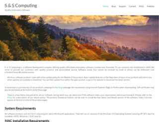 sandscomputing.com screenshot