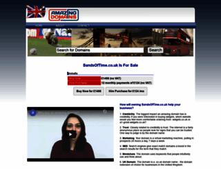 sandsoftime.co.uk screenshot
