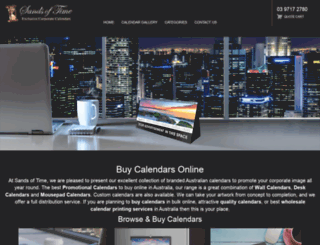 sandsoftime.com.au screenshot