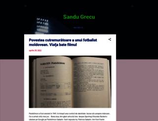 sandugrecu.blogspot.ro screenshot