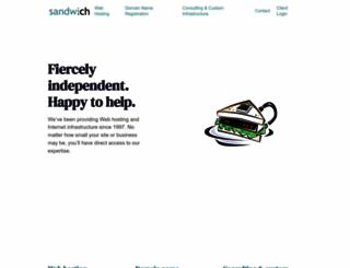 sandwich.net screenshot