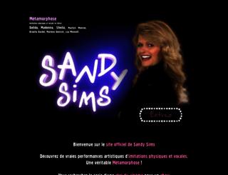 sandy-sims.com screenshot