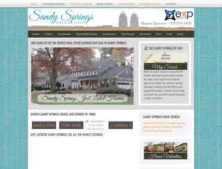 sandyspringscentral.com screenshot