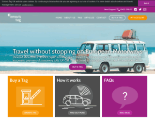 saneftolling.co.uk screenshot
