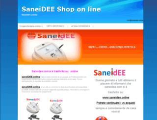 saneidee.com screenshot