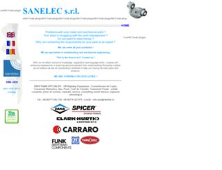sanelec.ro screenshot