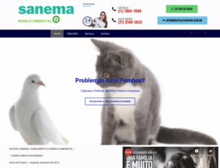 sanema.com.br screenshot