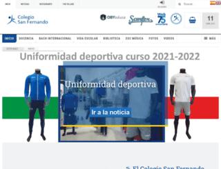 sanfer.es screenshot