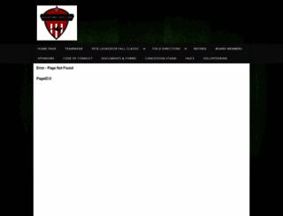 sanford.gotsport.com screenshot