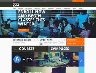 sanfrancisco.sae.edu screenshot