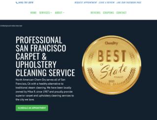 sanfranciscocarpetcleaning.com screenshot