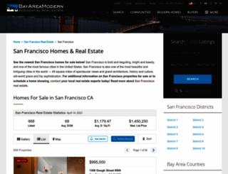 sanfranciscomodern.com screenshot